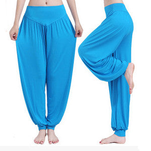 Yoga Pants Women Plus Size Colorful Dance Yoga Full Length Pants No Shrink Antistatic Pants