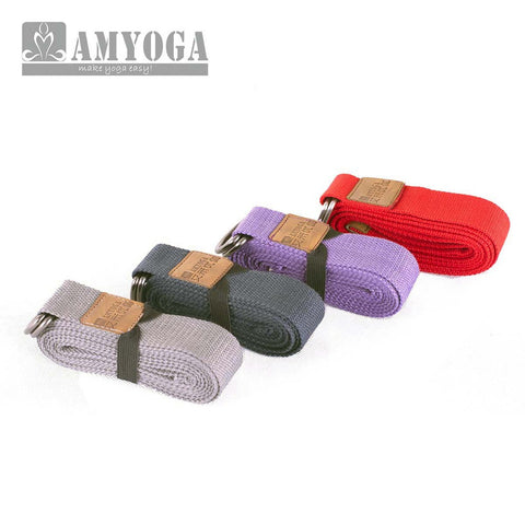 Extra Long Cotton Yoga Strap