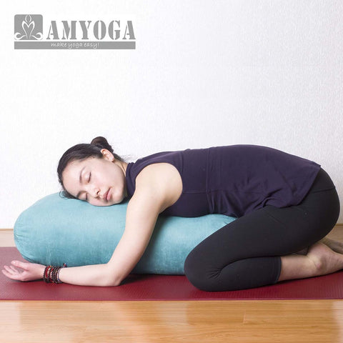 good supporting nice feeling rectangle yoga bolster