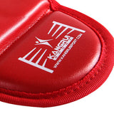 wholesale PU leather adult kids Muay thai kick boxing MMA grappling shin guards pads Karate foot Protector shank leg protectors