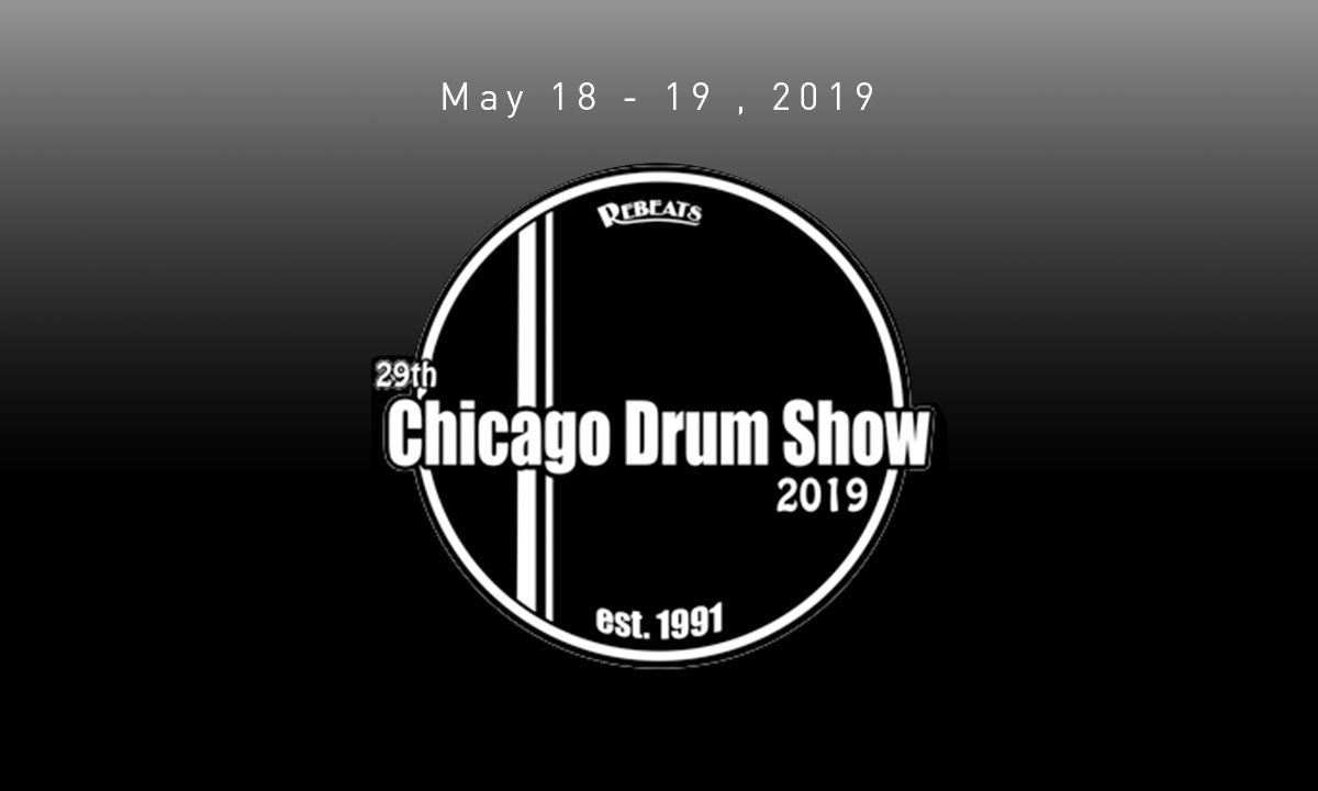Hang out with us at Chicago Drum Show 🥁