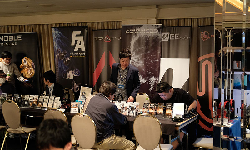 Advanced at Fujiya-avic Headphone Festival at Nakano 2017