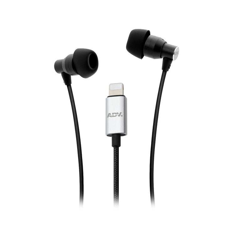 ADV. 911 Hi-fi Lighnting Earphones for iPhone