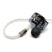 ADVANCED C1 Silver-plated Copper SPC Litz Cable 2-Pin Connection