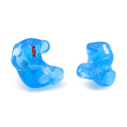 ADV. Eartune Fidelity Custom-fit Ear Tips Color Translucent Blue