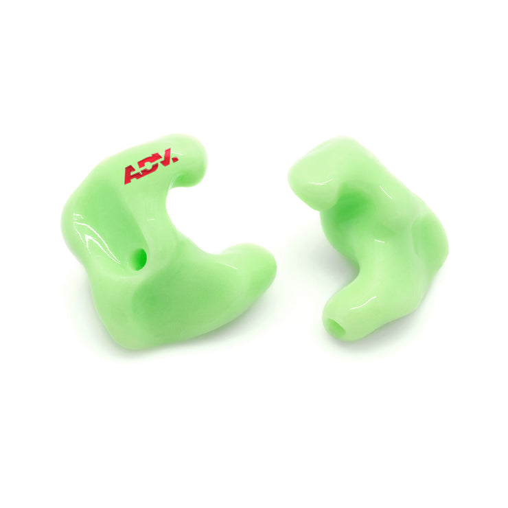 ADV. Eartune Fidelity Custom-fit Ear Tips Color Green