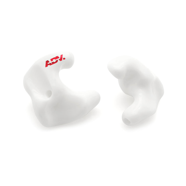 ADV. Eartune Fidelity Custom-fit Ear Tips Color White