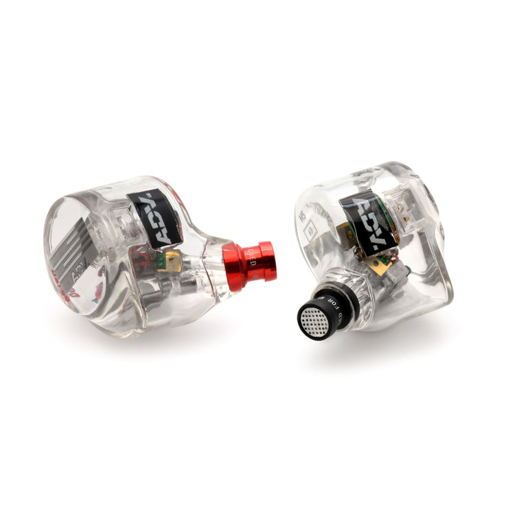 ADV. M5-6D 3D-printed In-ear Monitors 6 Driver 4 Balanced Armature 2 Electrostatic Hybrid Earphones