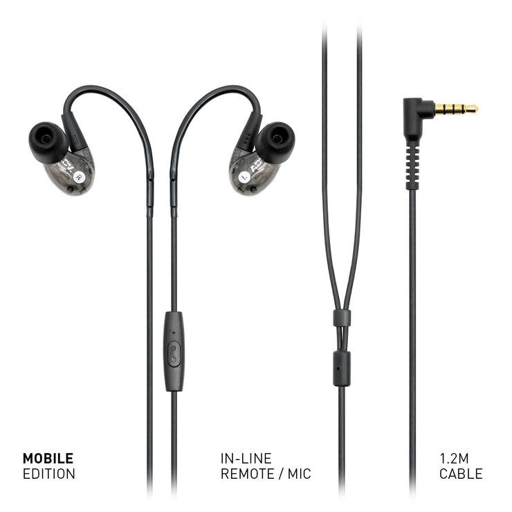 ADVANCED Model 2 High-resolution In-ear Monitors for Musicians