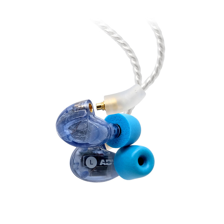 ADVANCED Model 3 BA2 Professional Dual-driver In-ear Monitors for Musicians Pro Audio Studio Recording