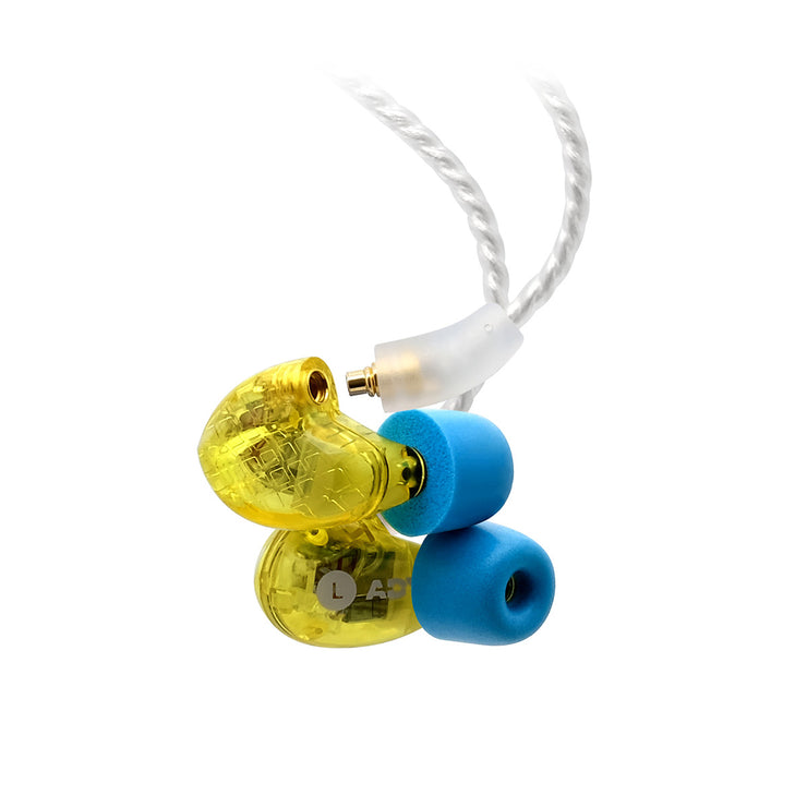ADV. Model 3 BA4 quad-driver guitarist in-ear monitors iem