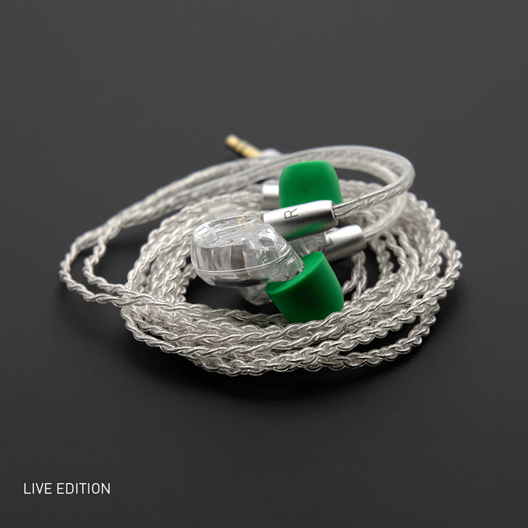 ADV. Model 3 Live Edition MMCX Hi-res In-ear Monitors Musician Earphones Stage Performance