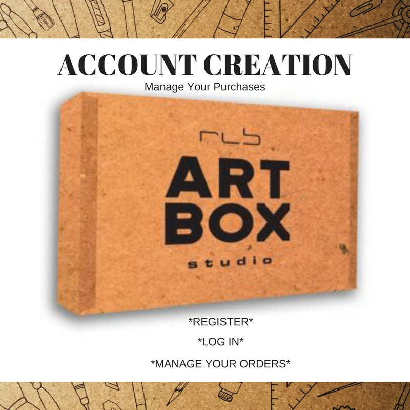 How to Create an ARTBOX Account