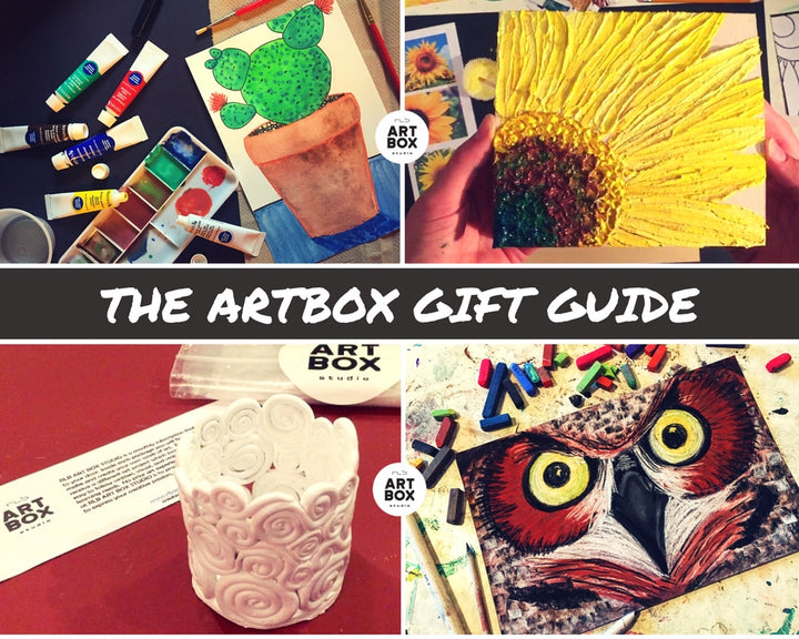 ARTBOX GIFT GUIDE-Artsy Gifts for All