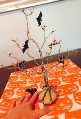 Tree, Halloween Tree, Fall Decor, Art Projects, Art Making, DIY Project, Craft Box, Art Box