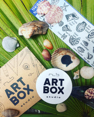 Vacation, ARTBOX, Inspiration, Florida, Shells