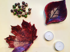 Clay Project, Craft Box, ARTBOX, Art Project, Artsy, Fall Leaf, Leaf Bowls, Leaves, Art, Erie, PA