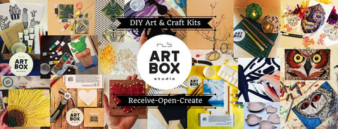 art project, RLB ARTBOX Studio, ARTBOX, Art Kits, Get Your Art On, Artsy, Craft Box, Art Kit, Craft Subscription, Art Subscription,