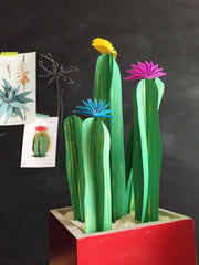 Paper Plants, 3D Paper Project, DIY, The House that Lars Built, Art Project