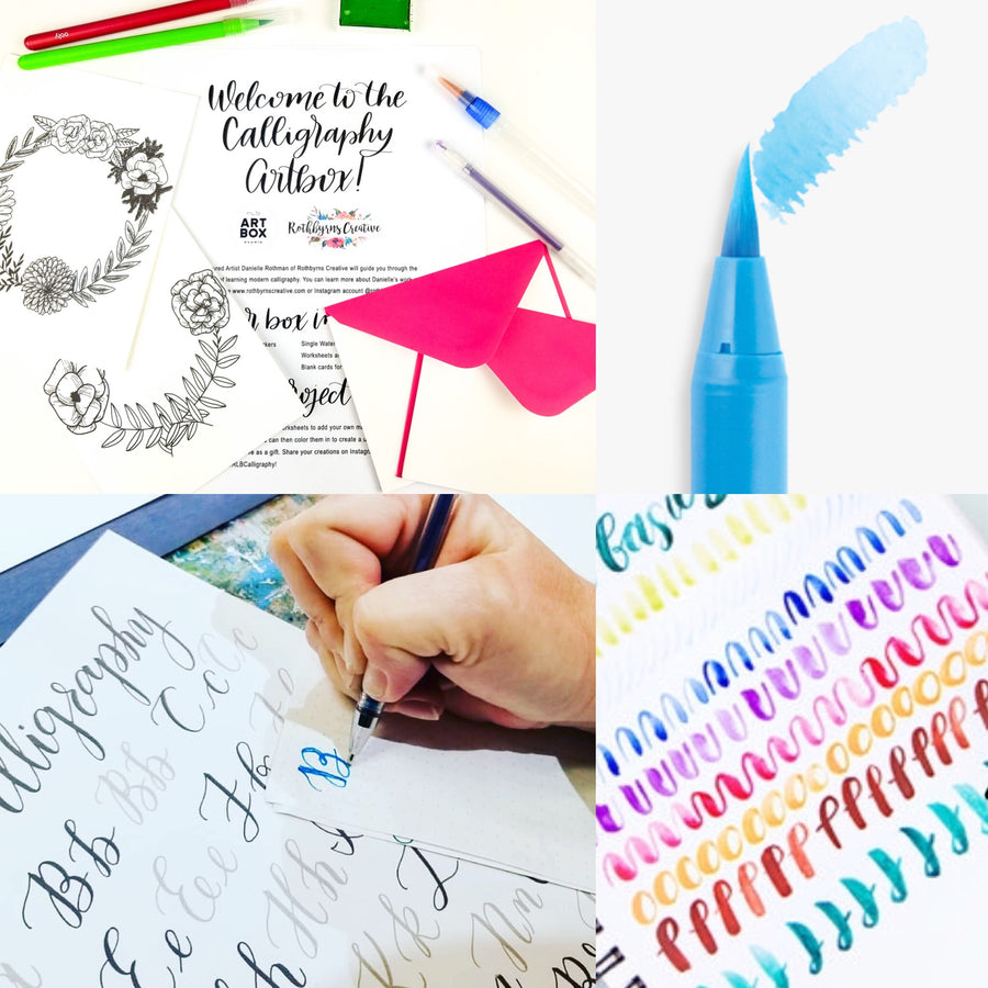 DIY Modern Calligraphy Art Kit - RLB ARTBOX STUDIO