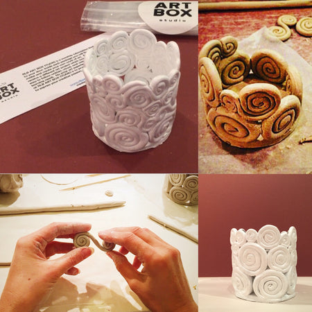 DIY Clay Vessel-Art Kit Delivered - RLB ARTBOX STUDIO