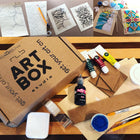 DIY Stained Glass, Art Project, Art Kit, Art Box, RLB ARTBOX STUDIO, Art Subscription, Art Project, Art for everyone, Artsy, Creative Box, Erie PA