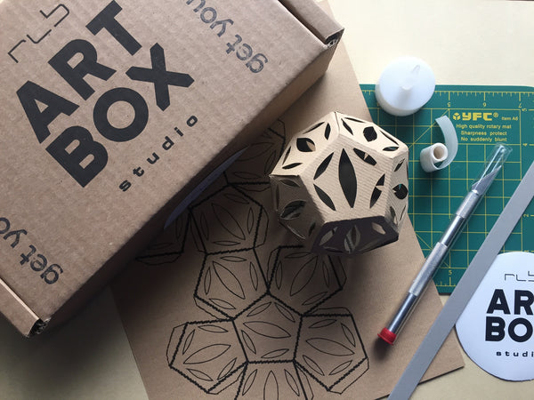 Art Project, Artist Kit, Artbox, Art Subscription, Art Kit, Paper Sculpture