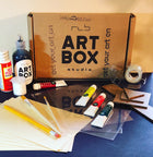 DIY Stained Glass-Art Kit Delivered - RLB ARTBOX STUDIO
