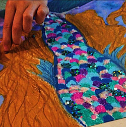 DIY Mermaid Tail-Art Kit Delivered-Special Edition - RLB ARTBOX STUDIO
