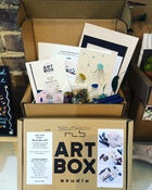 DIY Beach Glass Art-Art Kit Delivered - RLB ARTBOX STUDIO