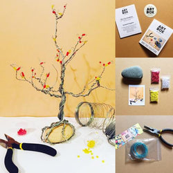 DIY Wire Tree Sculpture-Art Kit Delivered - RLB ARTBOX STUDIO