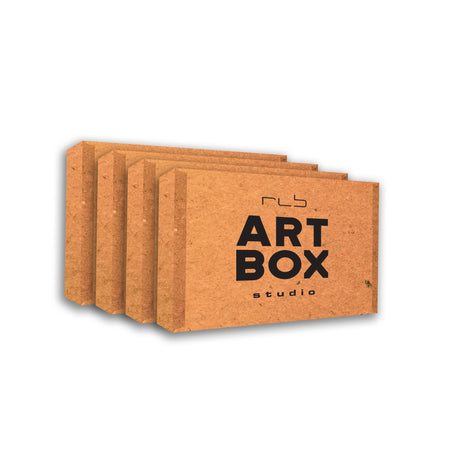 12 Month Subscription - RLB ARTBOX STUDIO full art project kit for all ages. Art Projects and Craft Boxes Delivered to YOU.