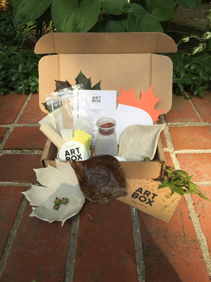 Fall Project Bundle-Four Art Boxes-Four Project Kits - RLB ARTBOX STUDIO