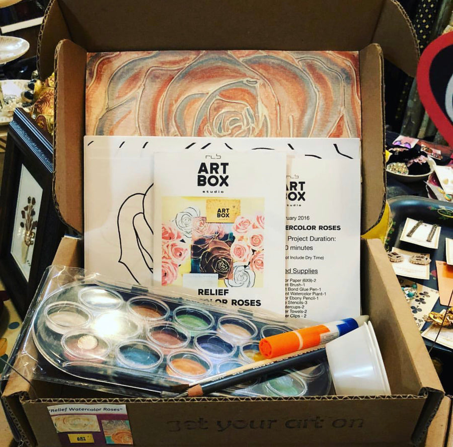 The Watercolor Kit - RLB ARTBOX STUDIO