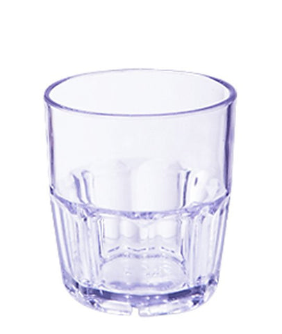 G.E.T. 9OZ Plastic Blue Bahama Rocks Glass
