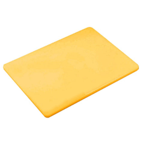 Browne 18  x  24 Inch Yellow Cutting Board