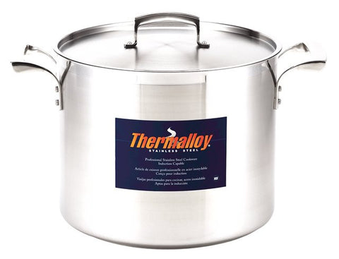 Browne 16Qt Stainless Steel Thermalloy Stock Pot