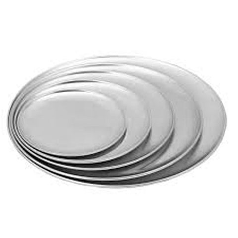 Crown Custom 10 x 1 Inch 20 Gallon Aluminum Deep Dish Pizza Pan