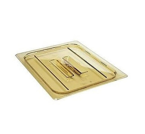 Cambro Full Size Amber Food Pan Cover With Handle