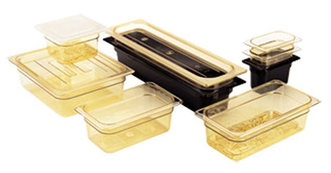 Cambro 2.5IN Amber Full Size Pan Insert