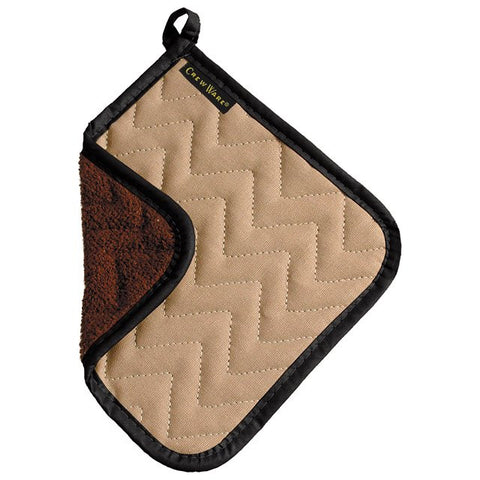 San Jamar 8X8In Bestgaurd Terry Cloth Pot Holder