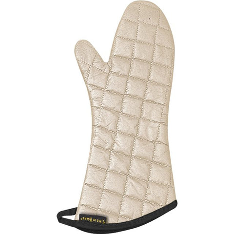 San Jamar 17IN Not Stick Tan Teflon Oven Mitt
