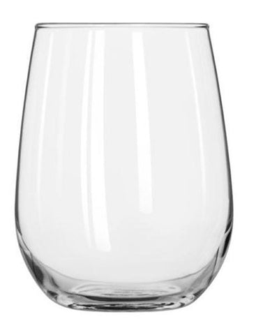Libbey 17OZ Stemless White Wine Glass