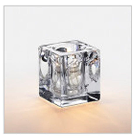 Sterno Candlamp 3.5 Inch Clear Prisidio Candle Votive