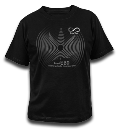 CBD ENHANCED T-SHIRT - NEW NEW NEW wear your CBD energy