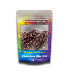HUNGER REDUCERS - delicious chocolate nibs keep you from snacking