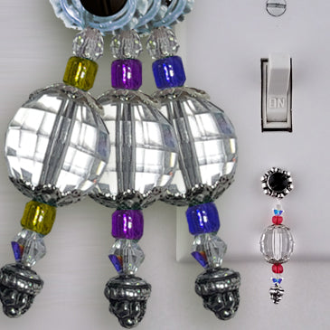 Energy-Enhanced Chromatherapy Crystal Set