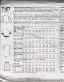 7107 Sewing Pattern Ladies Jacket and Skirt 4 6 8 10 12