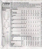 7099 Sewing Pattern Ladies Jacket Pants Skirt Top 8 10 12 14