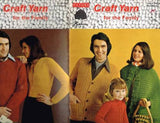 "145 Knit & Crochet Patterns Family ""Craft Yarn"" Vintage Cape Poncho"